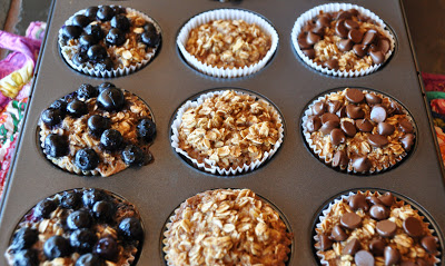 Grab 'n Go Oatmeal Cups | Toned & Fit