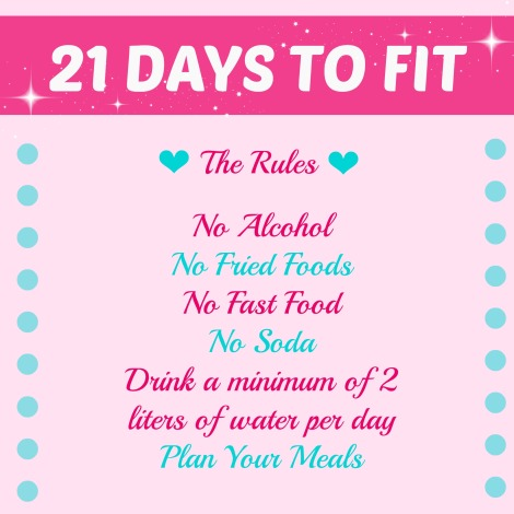 It Takes 21 Days To Form A New Habit - Join The Toned & Fit FREE 21 Day Challenge Beginning 11/18