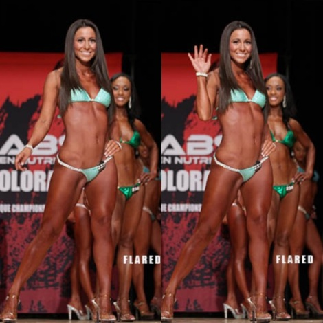 Diary of a Bikini Competitor: Stage Photos